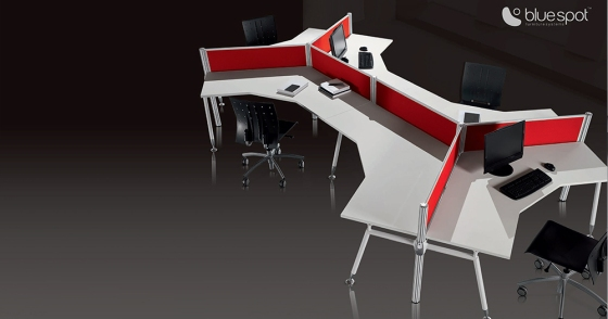 Going to the office can be exciting with office furniture Gibraltar and Bluespot!