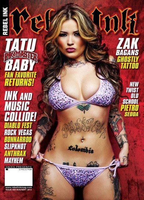 Love Magazines  -  Rebel Ink Magazine